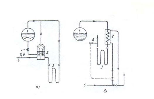 nối bộ giảm ôn với đường nước nồi hơi - lò hơi